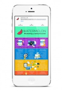 Perfil de Instagram Watermelon Marketing