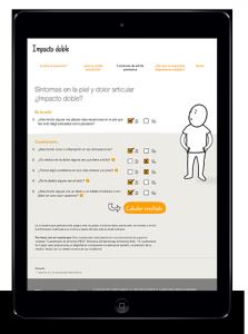 Cuestionario de la página web impactodoble.es