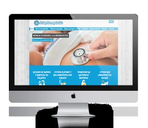 Página web de la campaña StopBronquiolitis